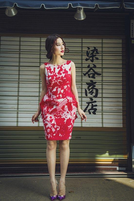 Diễm My 9X khoe sắc phố Nhật