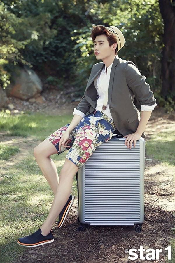 Lee Jong Suk - @Star1 tháng 7/2015