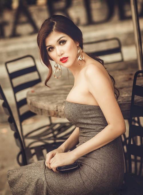 Oanh Yến sẽ lên đường tham gia cuộc thi Hoa Hậu Toàn Cầu Thế giới Miss PanContinental International 2015