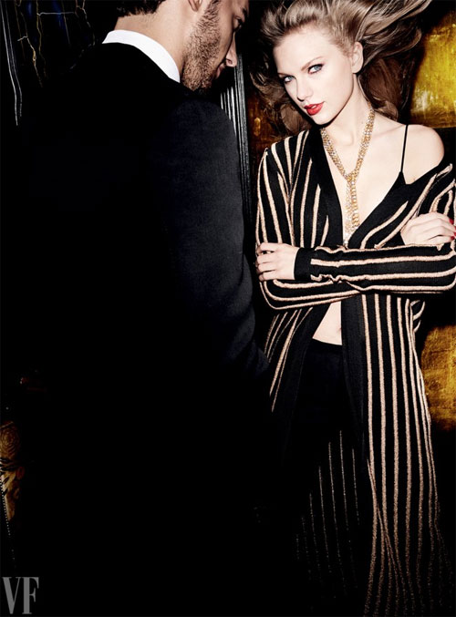 Taylor Swift đẹp quý phái trên trang bìa Vanity Fair
