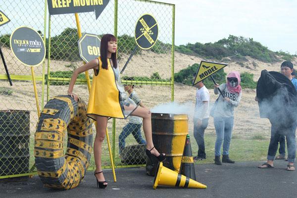 Hậu trường hình hiệu Vietnam Next Top Model 2015