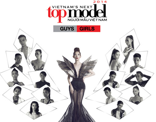 Hình Hiệu Vietnam's Next Top Model 2014