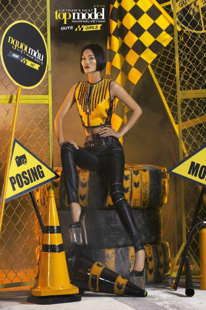 Đào Thị Thu - Vietnam's Next Top Model 2015  - Keep Moving – Không ngừng chuyển động