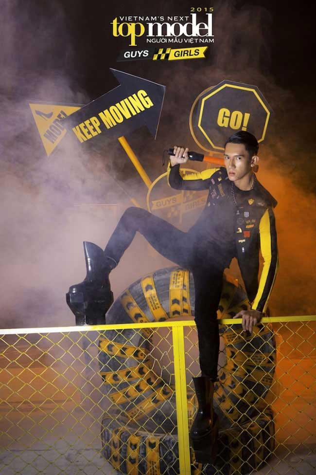 Nguyễn Thành Quốc - Vietnam's Next Top Model 2015  - Keep Moving – Không ngừng chuyển động