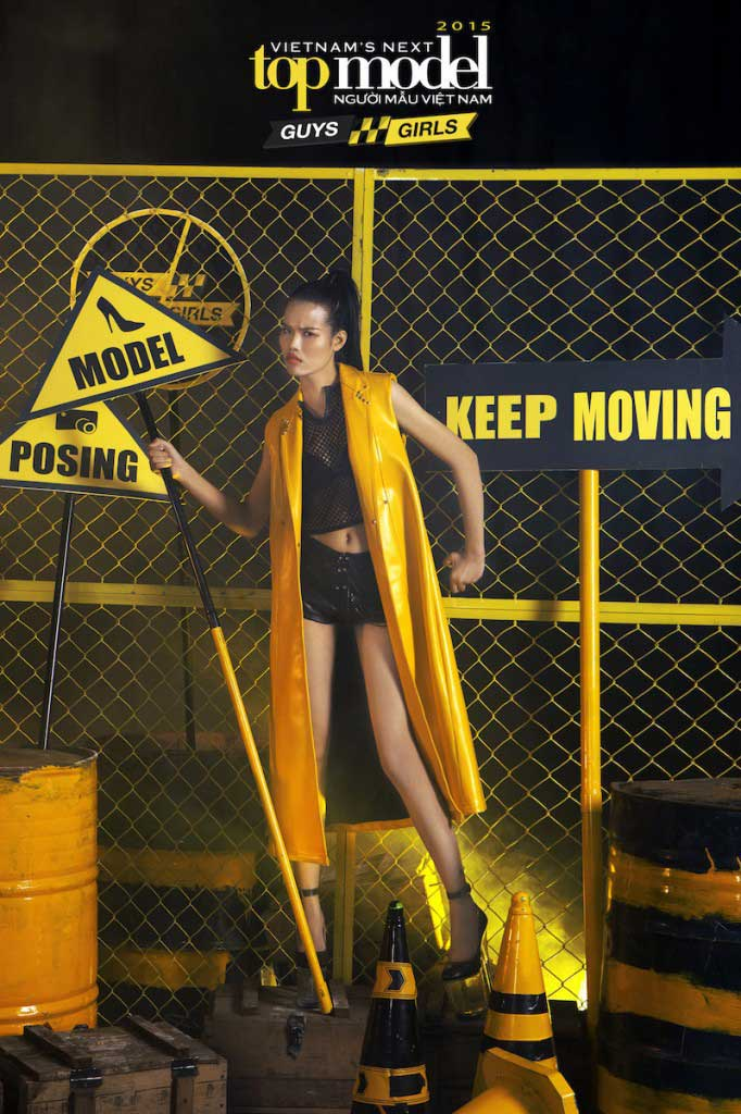 Nguyễn Thị Hồng Vân - Vietnam's Next Top Model 2015  - Keep Moving – Không ngừng chuyển động