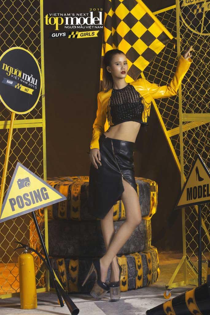 Nguyễn Thị Hương Ly - Vietnam's Next Top Model 2015  - Keep Moving – Không ngừng chuyển động