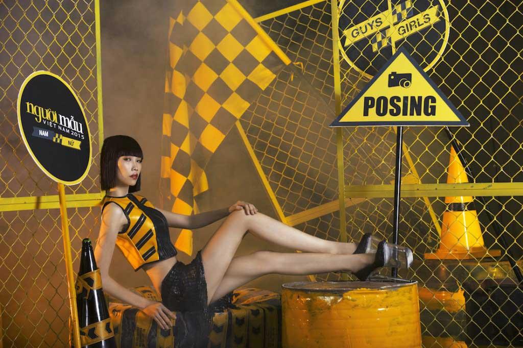 Nguyễn Thị Kim Phương  - Vietnam's Next Top Model 2015  - Keep Moving – Không ngừng chuyển động