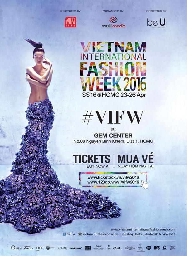 Chà Mi đại diện cho VIFW 2016
