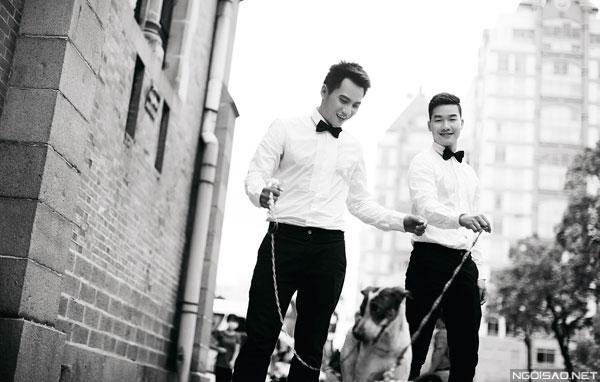 Bộ ảnh cưới lãng mạng của cặp đôi đồng tính