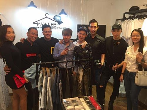 Dàn người mẫu , hot boy hội ngộ trong sự kiện khai trương Max Lee Store