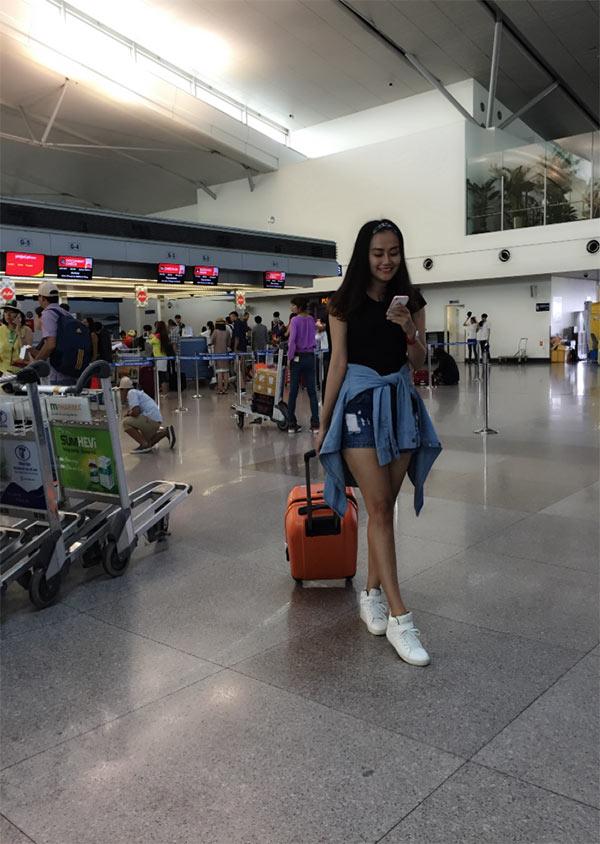 hot girl du lịch Nhật Thảo