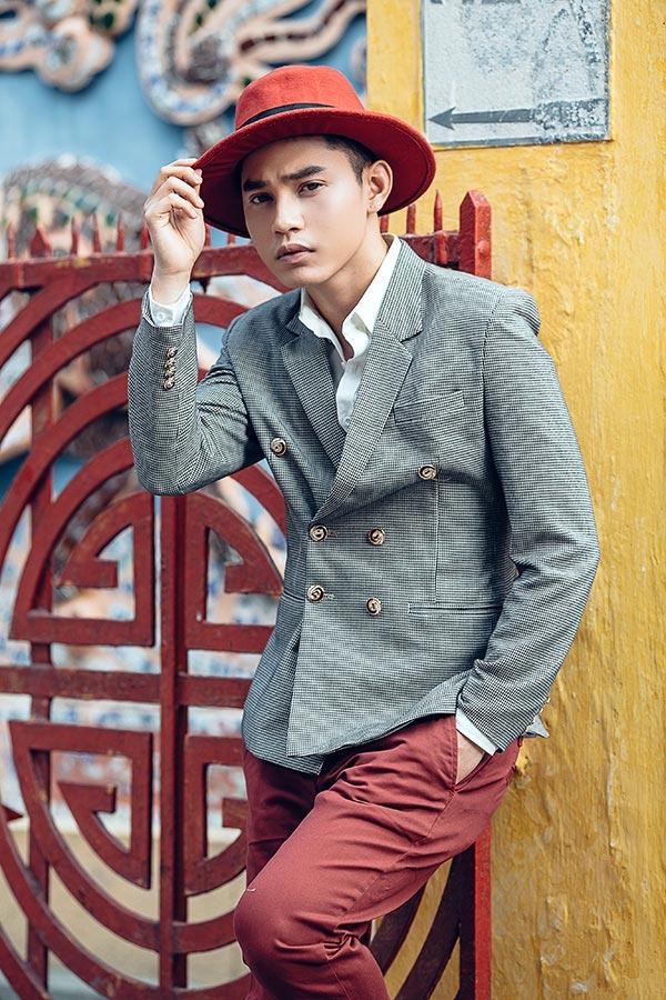 Phước Ngọc Lê chất lừ trong trang phục Mùa Đông