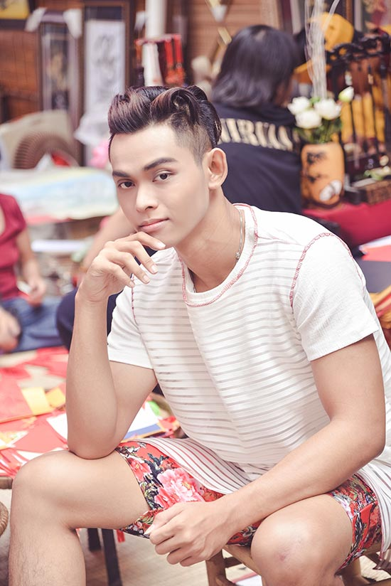 Thái Bảo – Chàng Mẫu Trẻ với gương mặt lạ