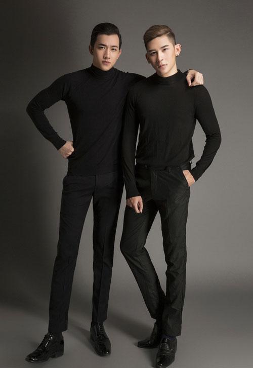 Võ Cảnh và Minh Trung so vẻ đẹp trai