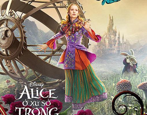 Alice ở xứ sở trong gương - cuộc đối đầu mới