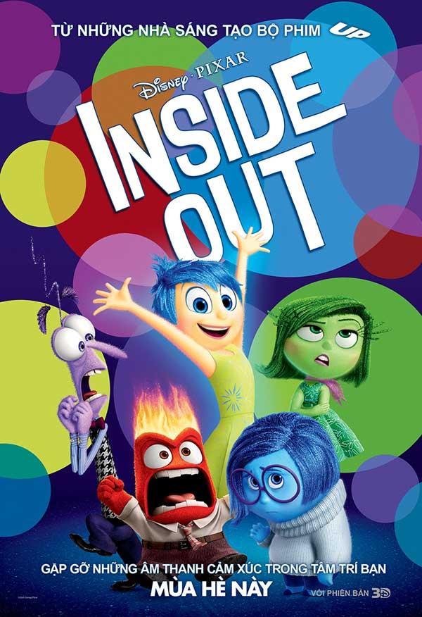 Inside Out và 5 cảm xúc tuổi Teen