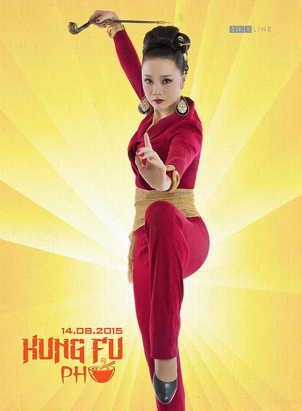 Kung Fu Phở, bộ phim điện ảnh đầu tiên lấy cảm hứng từ Phở, một món ăn đặc trưng của văn hoá ẩm thực Việt Nam, hứa hẹn mang đến cho khán giả một sự kết hợp tuyệt vời giữa Kung-fu, phở, và yếu tố hài hước với sự tham gia của Diễm My 9X, Linh Sơn, Mỹ Duyên và Hoàng Phúc...