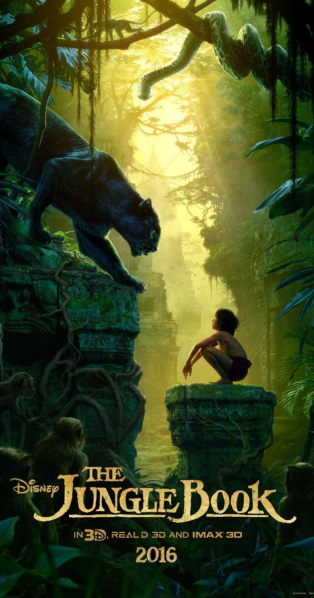 Poster THE JUNGLE BOOK - Cậu bé rừng xanh 2016