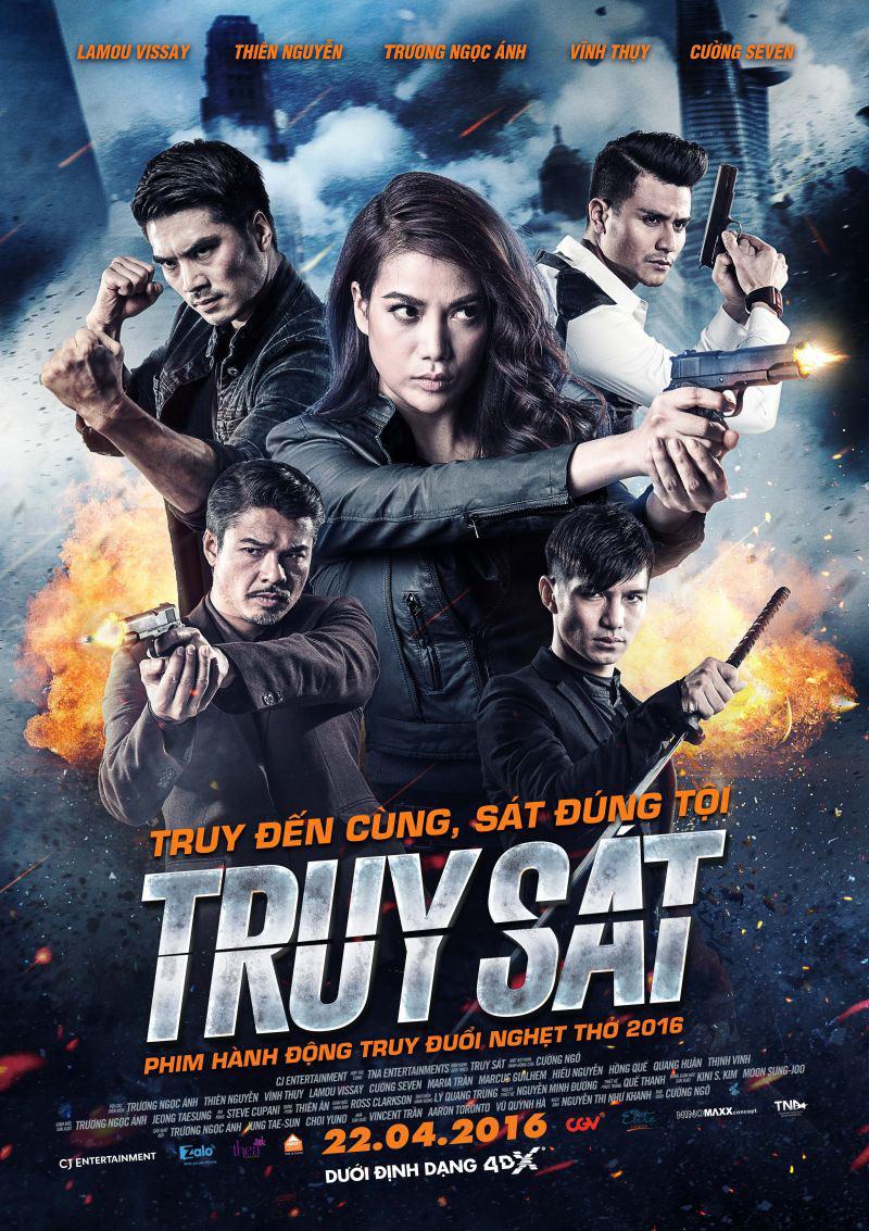 poster TRUY SÁT - Trương Ngọc Ánh
