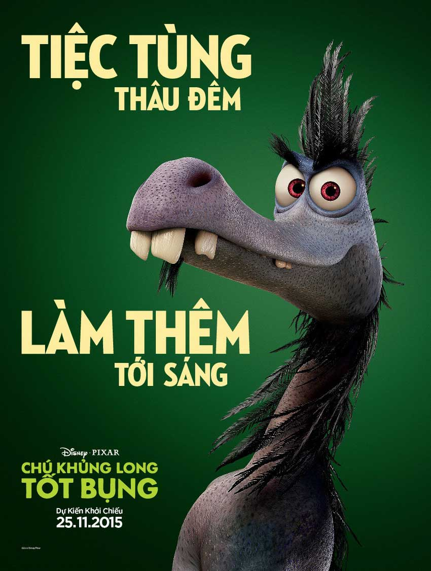THE GOOD DINOSAUR - CHÚ KHỦNG LONG TỐT BỤNG | GO TO CINEMA