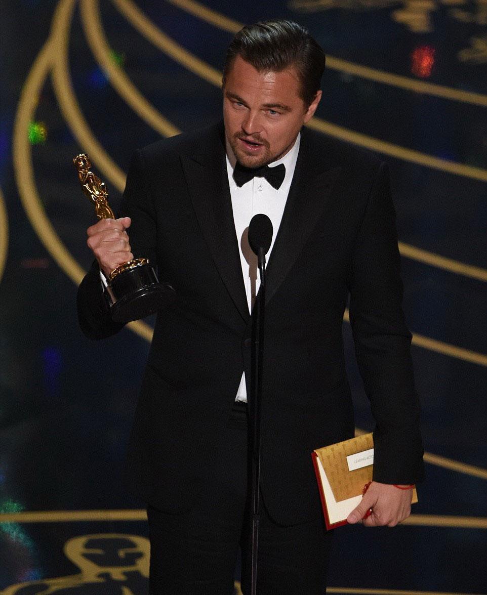 Leonardo DiCaprio - oscar