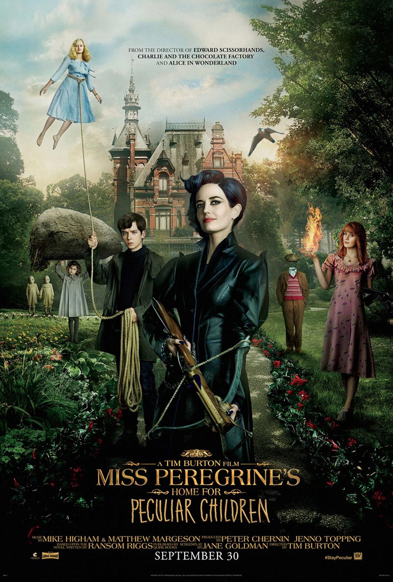 Miss Peregrine  poster 2016
