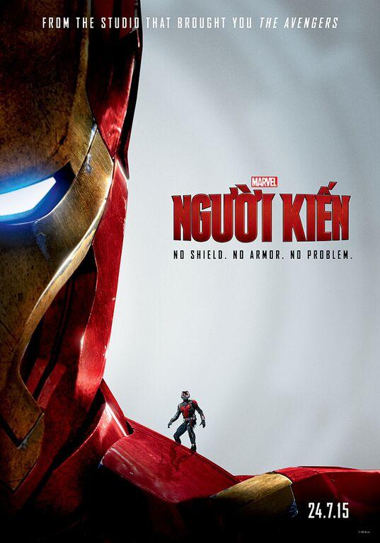 Người Kiến nhập hội người hùng Marvel