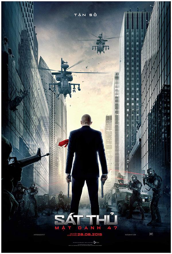 Hitman Agent 47 - Sát thủ Mật danh 47 poster