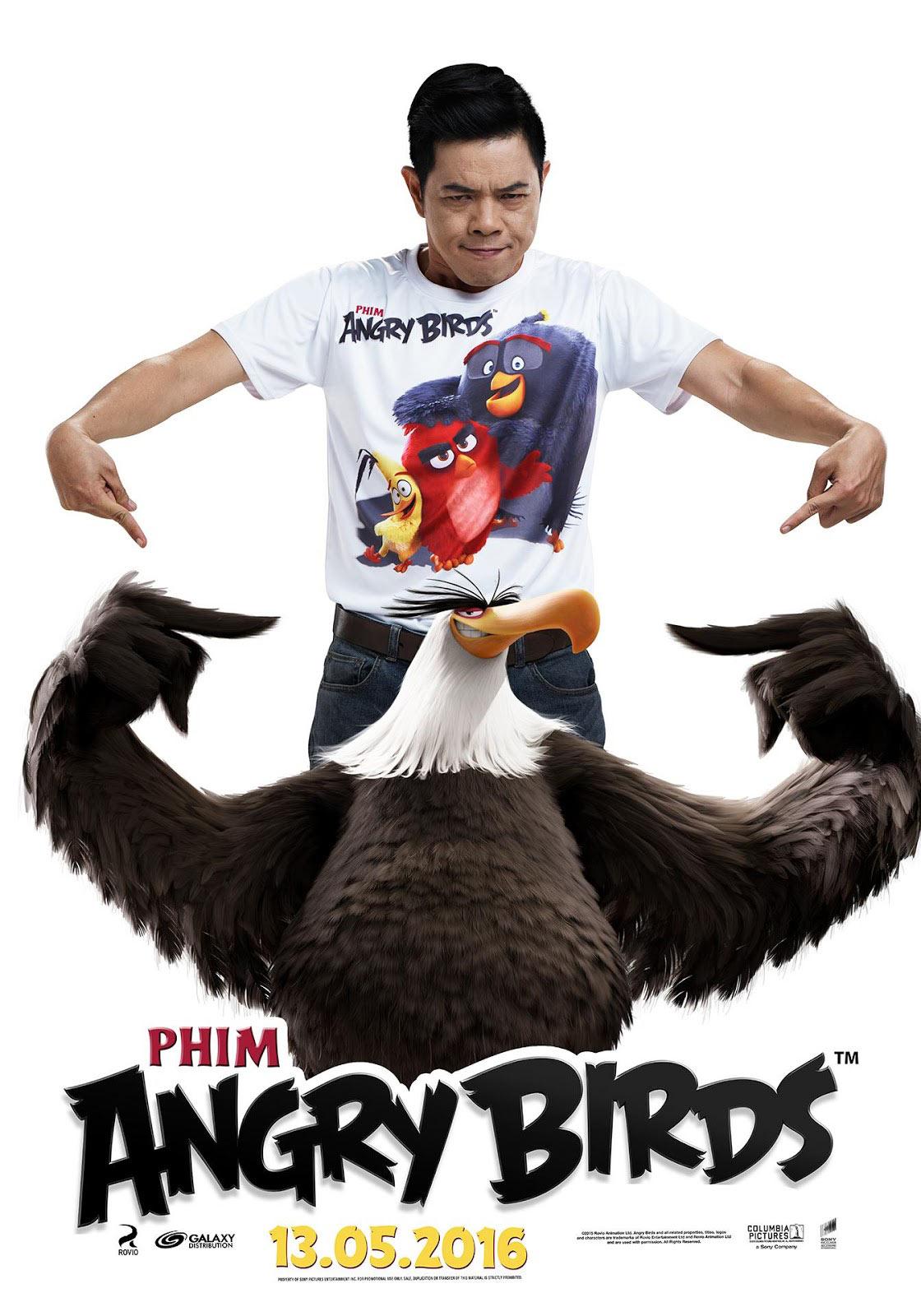 Thái Hoà lồng tiếng Angry Birds