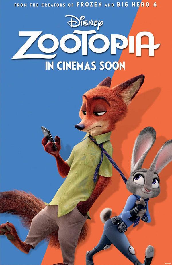 Zootopia siêu phẩm 2016 Walt Disney - Phi vụ động trời