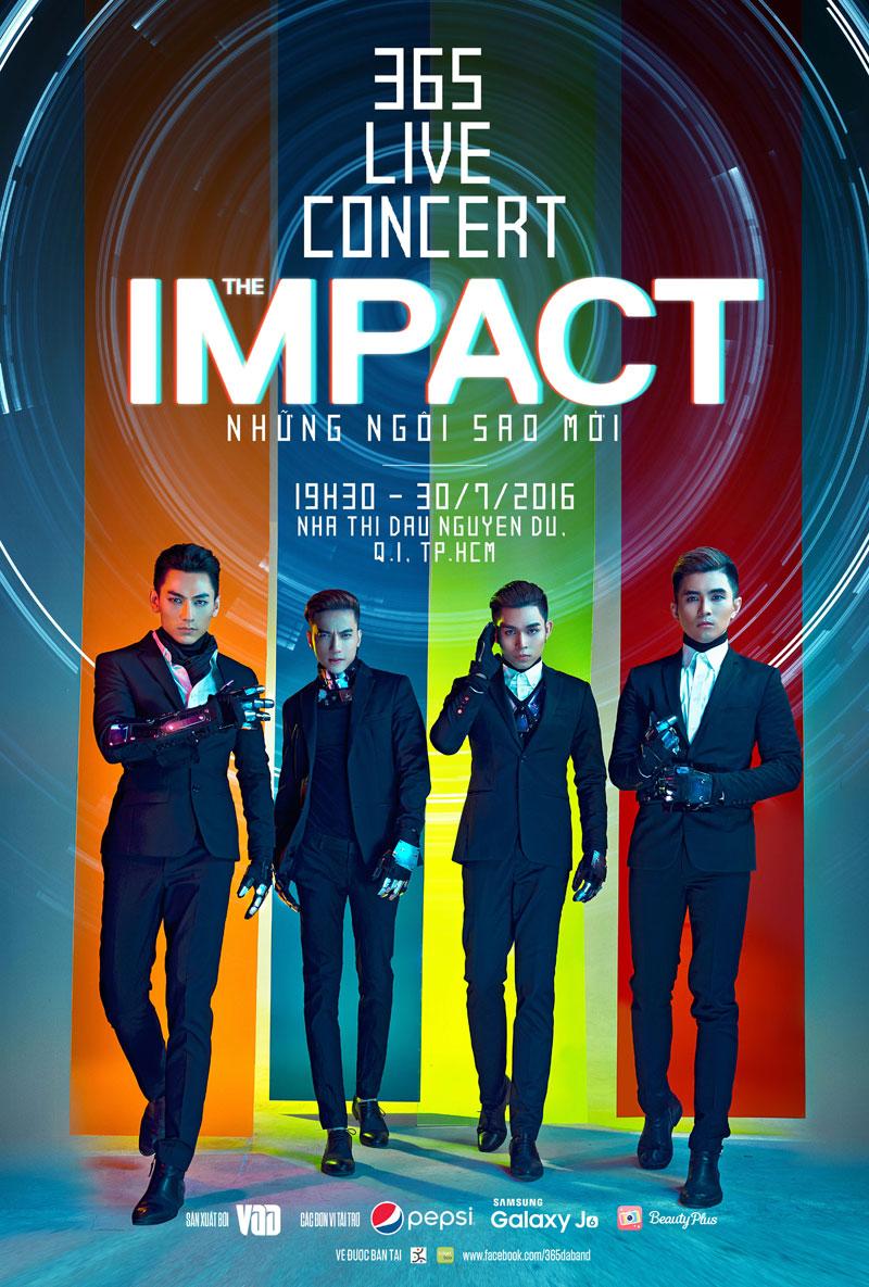 """""""The Impact"""" là hành trình cuối cùng của các chàng trai 365 khi   còn bên cạnh nhau"""