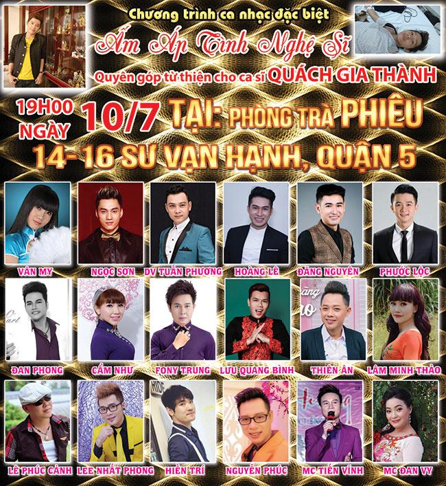 """Đăng Nguyên kết hợp cùng ca sĩ Vân My tổ chức đêm nhạc từ thiện """"ẤM ÁP TÌNH NGHỆ SĨ"""""""