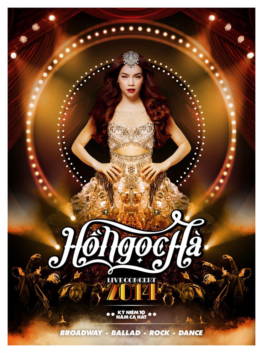 DVD Hồ Ngọc Hà Live Concert bán rất chạy