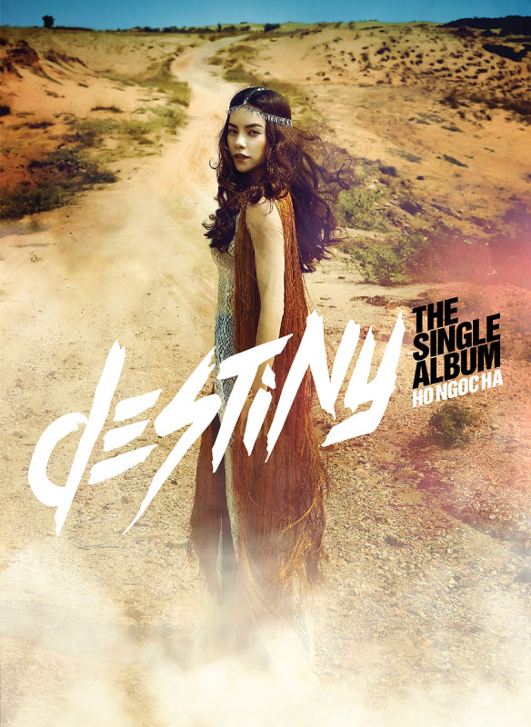 Hồ Ngọc Hà hóa cô gái du mục với Destiny