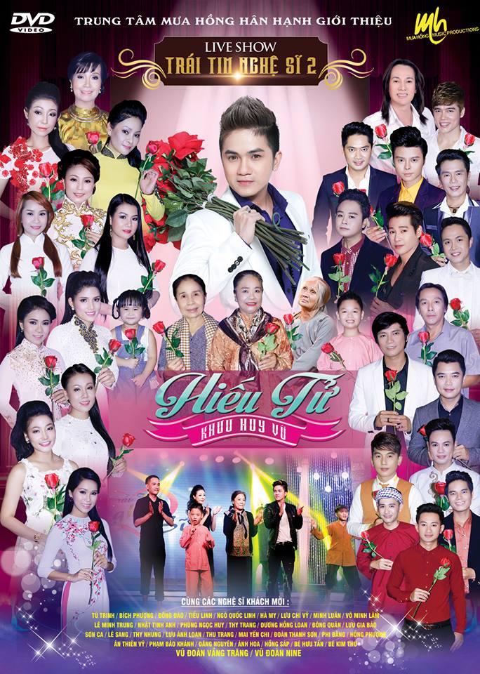 DVD  Trái Tim Nghệ Sỹ 2 - Chủ đề Hiếu Tử Saoshowbiz.com